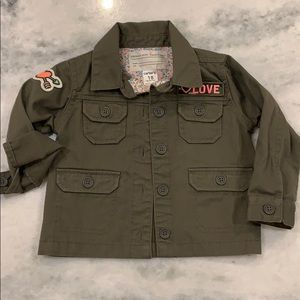 EUC • Carter's Army Jacket • 18M